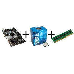 Kit Pentium G4560 3.5ghz + Asrock H110m + 4gb Ddr4 2400mhz