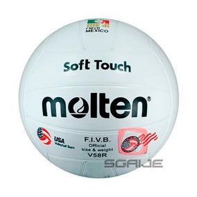 Balón Voleibol Molten V58r Hule Soft Touch Original Sgaije