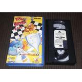 Vhs Tom E Jerry Kids 500 Milhas Indy Mouse Original Dublado