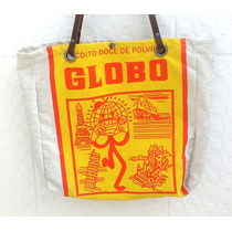 Bolsa Sacola Feminino Biscoito Globo Moda Praia Biquini