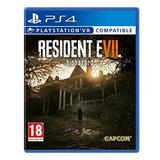Resident Evil 7: Biohazard Para Ps4 Juego Fisico Nuevo