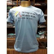 Camiseta Tão Longe Do Mar... Loja Postal De Minas