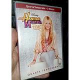 Dvd - Série Hannah Mantana 1,2,3 E 4 Temporadas - Original