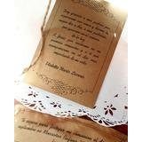 Tarjeta De Invitación Vintage 15 Años Comunión Casamiento