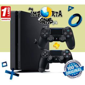 Playstation 4 Ps4 Slim 1tb + 2 Controles Dualshock 4 V2