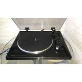 Denon Dp-300f Toca-discos De Vinil Hi End Com Pré De Phono