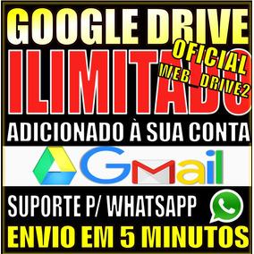Google Drive Ilimitado Adicionado A Conta Existente Pg Unico