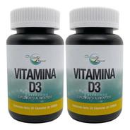 Vitamina D3 5000 Ui 30 Cápsulas Green House (2 Frascos)