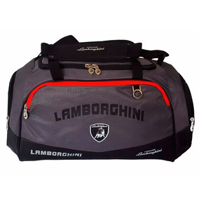 Bolso Deportivo Lamborghini Lmb1041 Logos Reflectivos *4