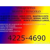 Volquetes Monte Chingolo- Temperley-lanus- Banfield Lomas -