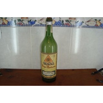 Antigua Botella De Caña Tipo Habana. De Pulpería O Boliche!!