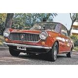 Fiat Coupe 750 800 1500 Kit 4 Estrelleras Goma Taco De Uña