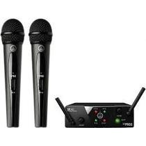 Microfone Duplo Akg Wms40 Pro Dual Mini A Pronta Entrega!!