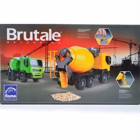 Caminhão Brutale Betoneira Brinquedos Menino Caminhãozinho.