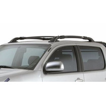 Kit Acessórios Nissan Frontier Dupla Capota Calhas Bagageiro
