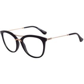 Vogue Vo 5156 Sl - Óculos De Grau W44 Preto Brilho E