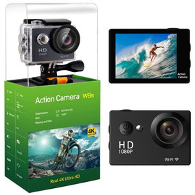 Camara Accion Deportiva Sumergible 12mp 4k Wifi W9s W9