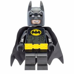 Reloj Lego Despertador Súper Héroes Batman Negro 9009327