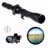 Luneta 4x20 Armas Pressão Carabinas - Riflescope Mount 11 Mm