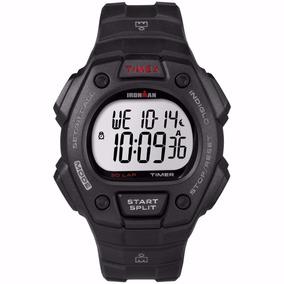Reloj Timex Ironman T5k822 Negro Caballero Original Wr 100 M