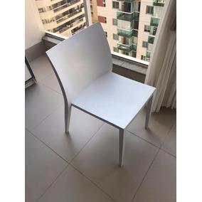 Cadeira Plástica Branca Tokstok