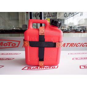 Bidon Recarga Nafta Con Soporte 5 Lts. Motoperimetro
