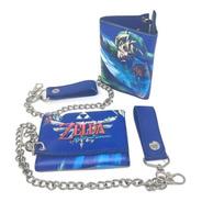Cartera Zelda Skyward Sword Con Cadena
