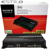 Potencia Sony Amplificador Xm-n1004 4 Canales 1000w