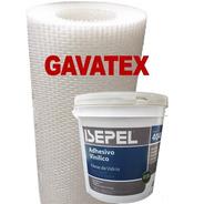 Humedad En Paredes Revestimiento Gavatex A5 25m+adhesivo 4k