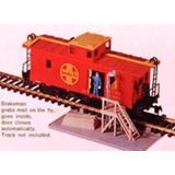 Vagon De Cola Tren Santa Fe Y Plataforma De Carga Esc Ho