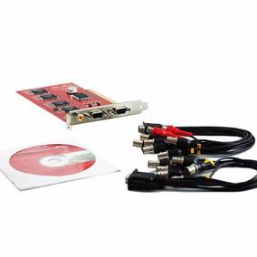 Placa Dvr Sr-416m9 Pci Card 16 Canais H.264 Com Áudio P/xp