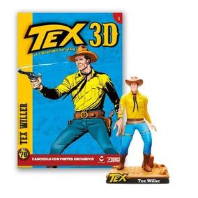 Colecao Tex 3d - Miniatura 1 Tex Willer - Bonellihq I18