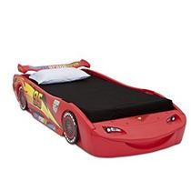 Juguete Delta Niños Cars Rayo Mcqueen Cama Individual Con L