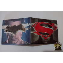 Billetera Batman Vs Superman Dawn Of Justice Importada!