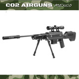 Rifle Black Ops Tactical Power Piston Sniper Combo Cal .177