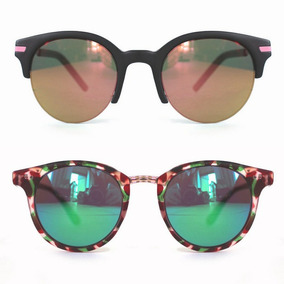 1f565f3f7d8fd Oculos Aviador Espelhado Colorido De Sol - Óculos De Sol no Mercado ...