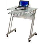 Escritorio Vidrio P C Mesa Mueble Oficina Linea Premium