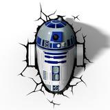 Luminária 3d Star Wars - R2d2 - Deco Light Geek Nerd