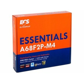 Tarjeta Madre Ecs A68f2p-m4 Ddr3 Amd Socket Fm2+