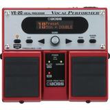 Pedal De Efeitos Para Voz Boss Ve-20 Processador Vocal