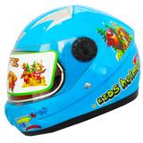 Casco Motos Ajustable Visor Transparent Niños 72858 Fernapet