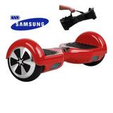 Hoverboard Skate Patinete Bateria Samsung Vermelho Bluetooth