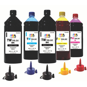 Tinta Compatível Para Epson Ecotank 5 Litros L220 Tw Ink-jet