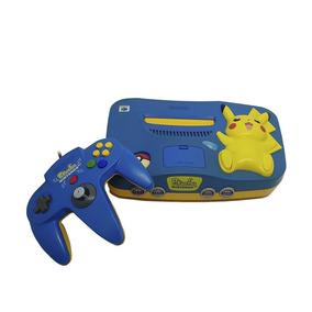 Nintendo 64 Japonês (pikachu Edition) - Nintendo