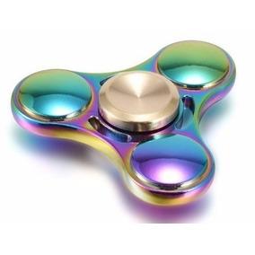 Fidget Hand Spinner Finger Metal Coloridos Tops Mais Modelos