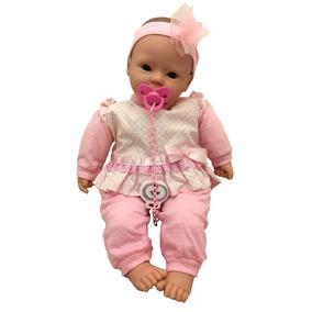 Boneca Bebê Real Recém Nascida Estilo Reborn - Divertoys