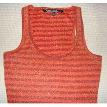 Musculosa Larga - Vestido Corto - Talle S - Tela Spandex