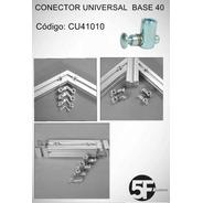 Conector Universal Para Perfil Estrutural Base 40/45