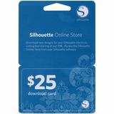 Cartão De Download Silhouette - Us$ 25,00 Em Créditos