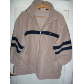 Campera Polar De Hombre Color Beige Talle Xl
